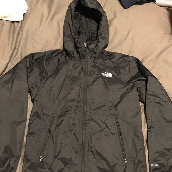 08acd3055 The North Face black Rain Jacket size Small Men